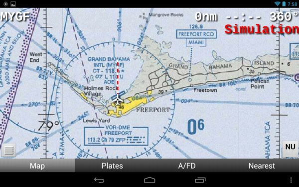 Bahama on WAC