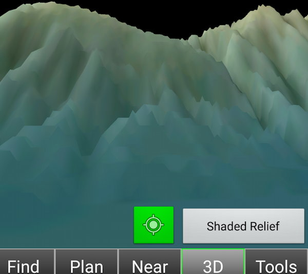 KSBA Shaded Relief Pilot View